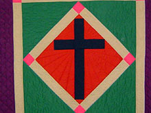 Lenten Amish Quilt for Lent